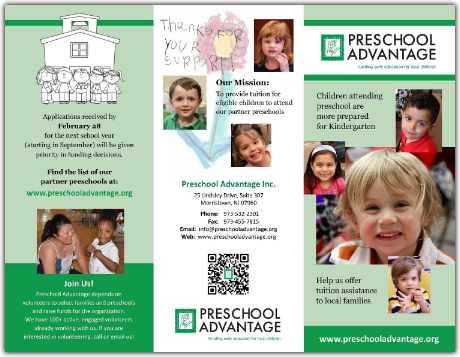 Preschool Advantage Brochure